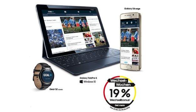 Samsung: 19 Prozent Cashback auf Galaxy S6, Galaxy TabPro S und Co. [Update: Aktion gestartet]