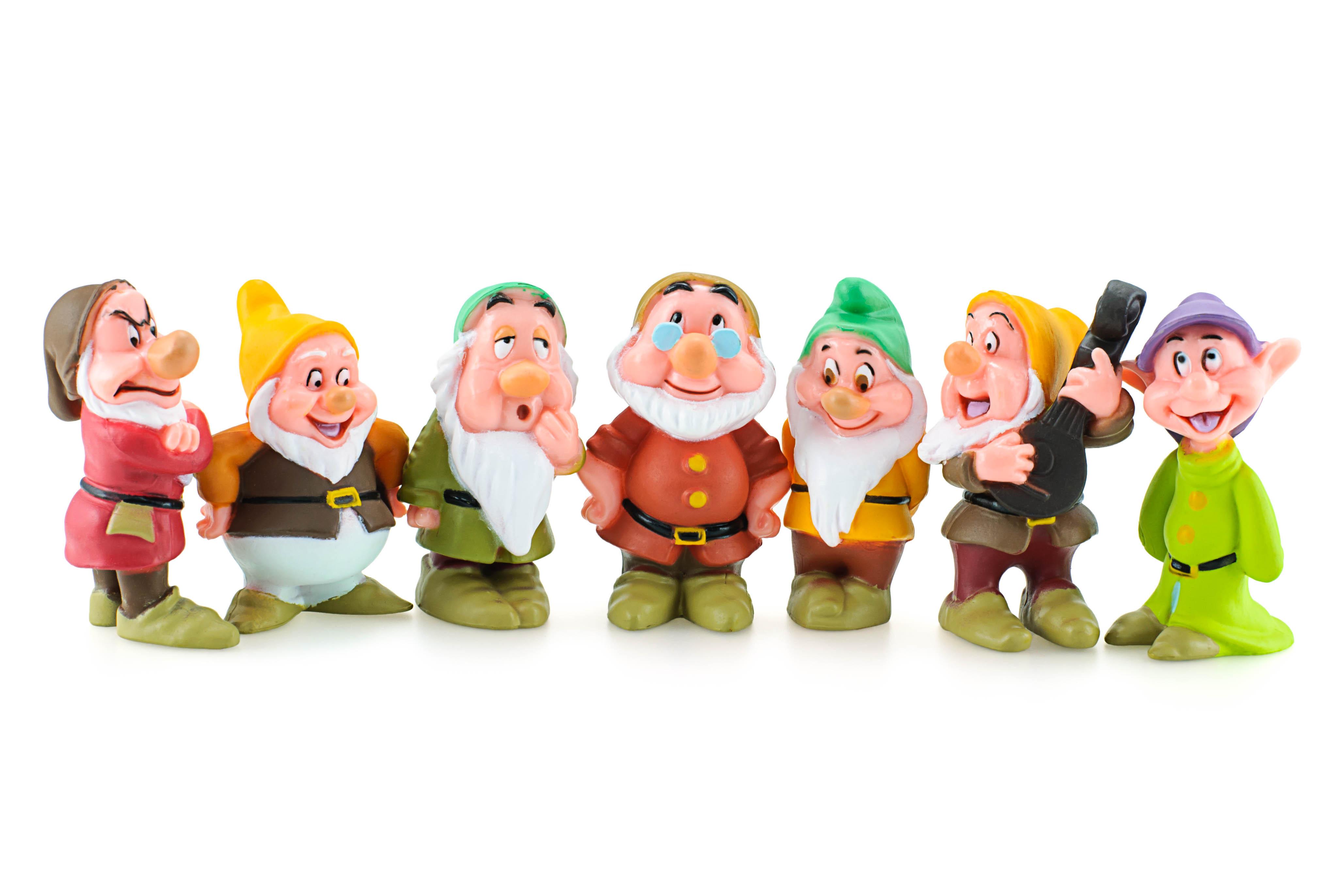 Populair 7 Zwerge-Namen: Wie heißen die Sieben Zwerge bei Grimm, Disney  PB45