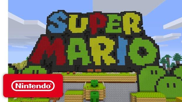 Minecraft Wii U: Das Super-Mario-Update macht diese Version einzigartig