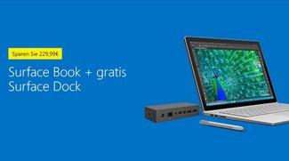 Surface Book kaufen und Surface Dock im Wert von 229,99 Euro kostenlos erhalten