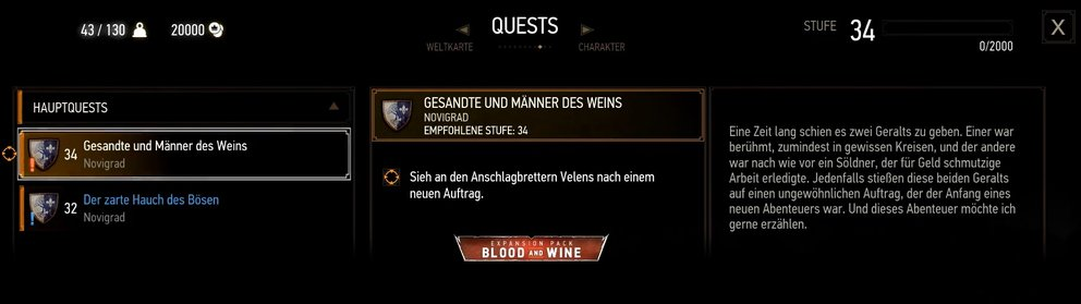 the-witcher-3-blood-and-wine-dlc-starten-questeintrag