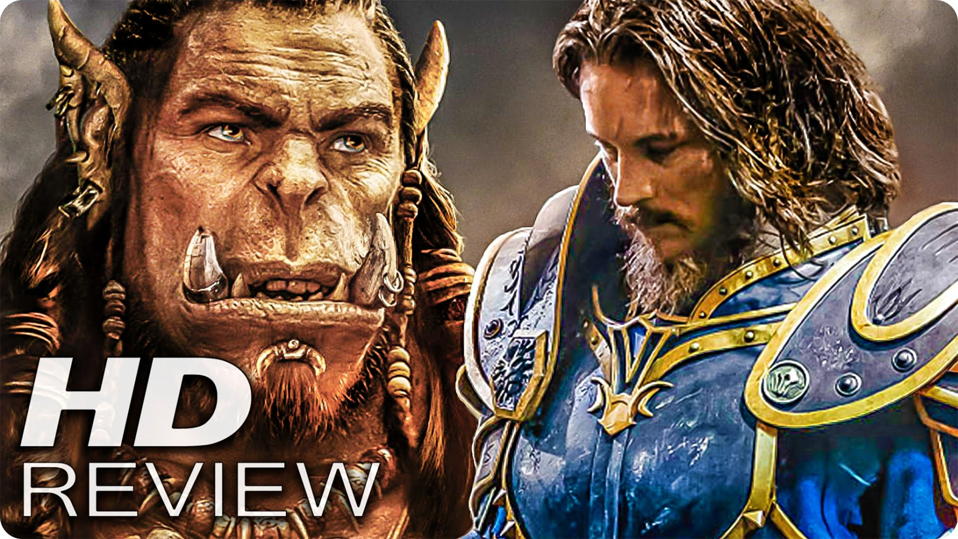 WARCRAFT: THE BEGINNING Kritik Review & Trailer Deutsch German (2016)