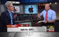 Tim Cook über Apple-Zahlen:...