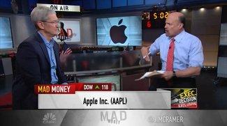 """Tim Cook über Apple-Zahlen: Börse hat """"überreagiert"""", neue Innovationen kommen"""