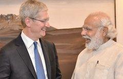Tim Cook traf erneut indischen...