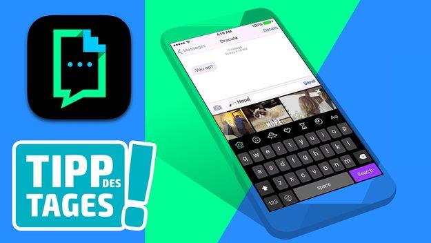 GIPHY KEYS: Die eigene iOS-Tastatur für animierte GIFs (Tipp)