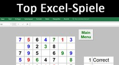 Excel-Spiele: 7 Kostenlose Games zum Download