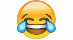 Tränen lachender Smiley: Code, Facebook, WhatsApp
