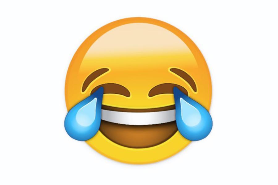 Smiley vor weinen lachender 😂 Lachender