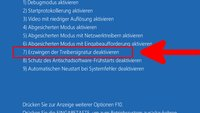 Windows 10: Treibersignatur dauerhaft deaktivieren – so geht's