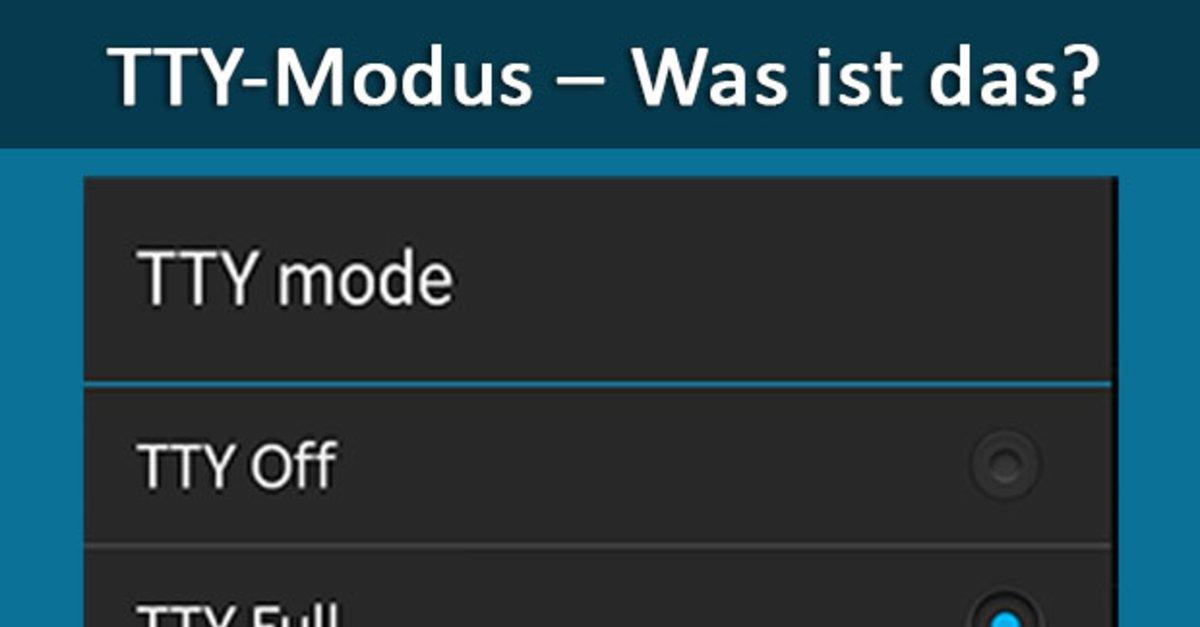 was ist modus