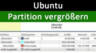 Ubuntu: Partition vergrößern – So geht's