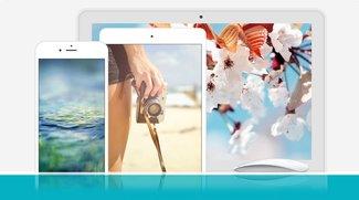 """Wallpaper für iPhone, iPad und Mac: Passende Motive zum """"Frühjahrsputz"""""""