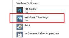 Windows 10: Alte Fotoanzeige nutzen – so geht's