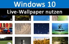 Windows 10: Live-Wallpaper...