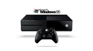 Windows 95 auf der Xbox One im Video demonstriert