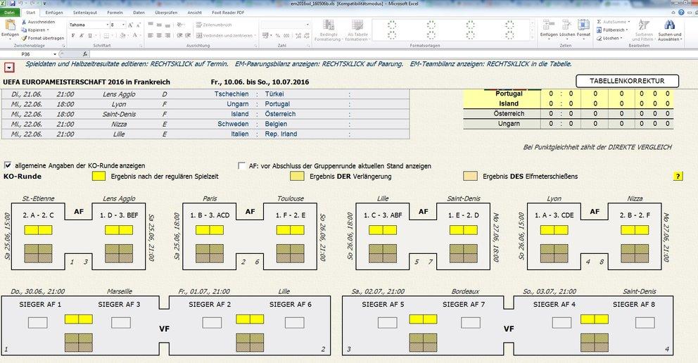 Em Tippen Excel