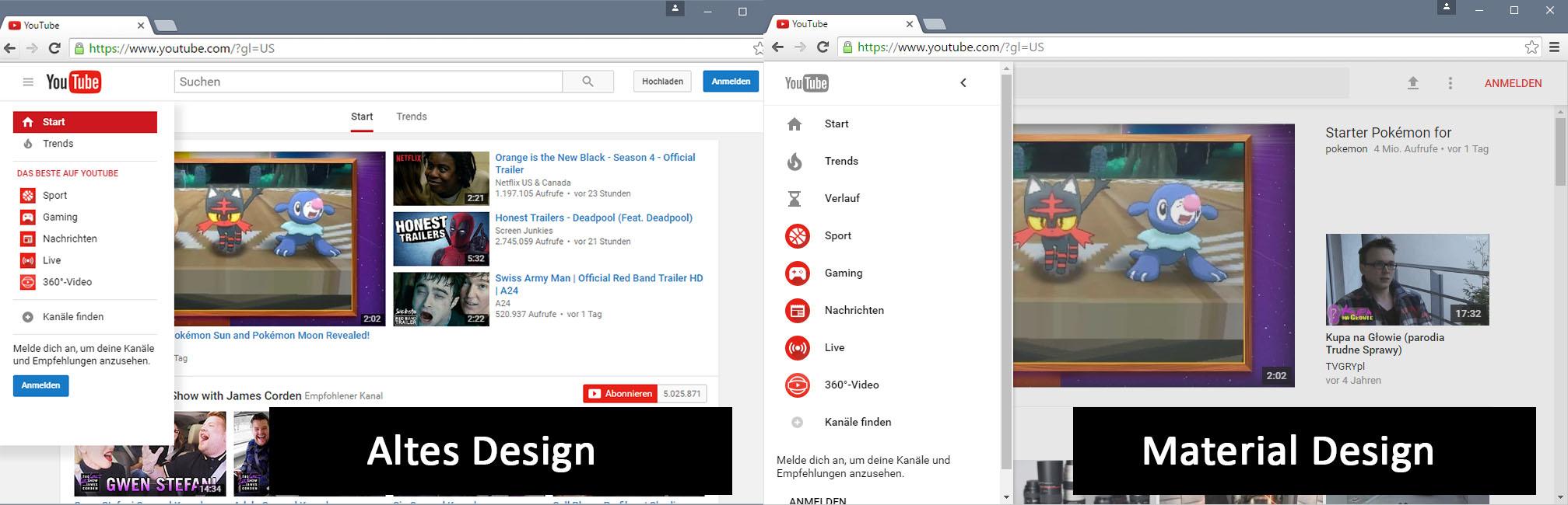 Marvelous Youtube Material Design Aktivieren So Gehts Download Free Architecture Designs Scobabritishbridgeorg