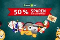 EM-Special: WhatsApp-SIM 30&nbsp&#x3B;Tage testen – für nur 5&nbsp&#x3B;Euro