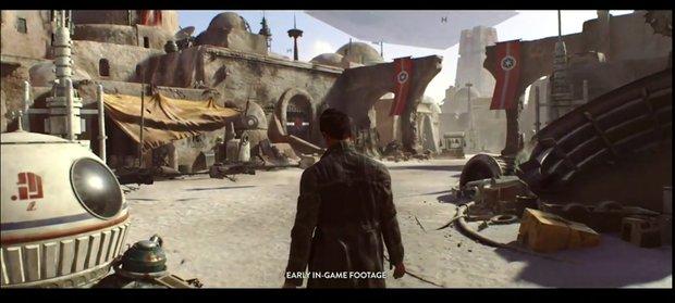 Star Wars: Erste Szene aus neuem Action-Adventure von Visceral Games