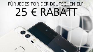Huawei: 25 Euro Rabatt für jedes Tor der deutschen Nationalmannschaft
