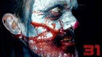 Im heftigen Trailer zu Rob Zombie's 31 entführen euch fiese Clowns in ein düsteres Hinterland