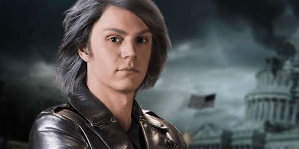 Evan Peters als Pietro Maximoff/Quicksilver
