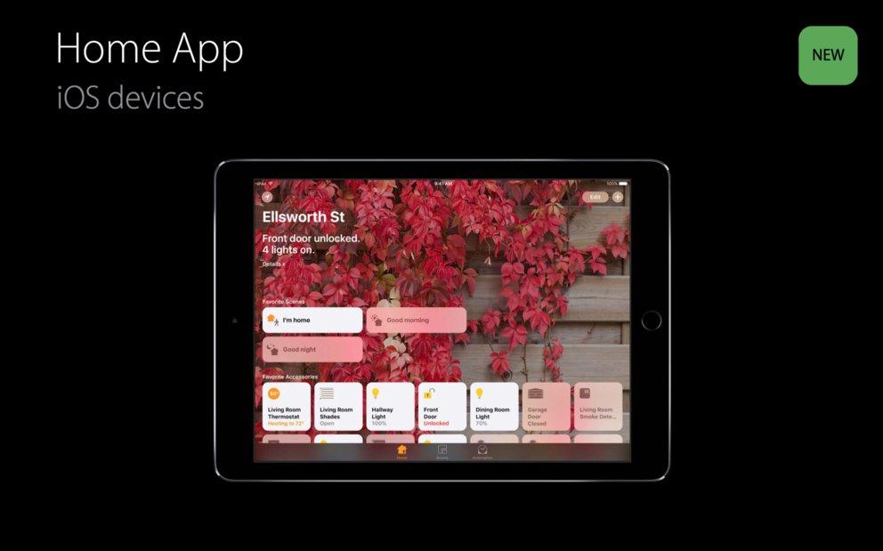 HomeKit in iOS 10: iPads können ebenfalls als Hub genutzt werden – GIGA