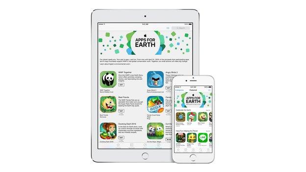 """""""Apps for Earth"""": App-Store-Aktion bringt 8 Millionen Dollar ein"""