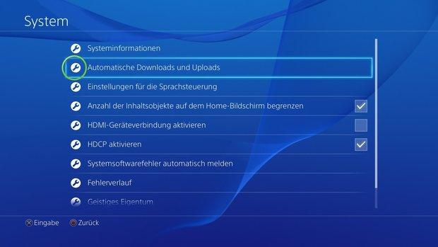 PS4 Ruhemodus: Alle Funktionen im Überblick