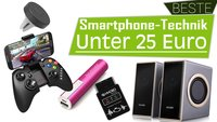 Die beste Smartphone-Technik unter 25 Euro