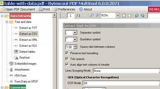 ByteScout PDF Multitool