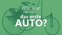 Das erste Auto: Wer hat's erfunden und wie sah es aus?