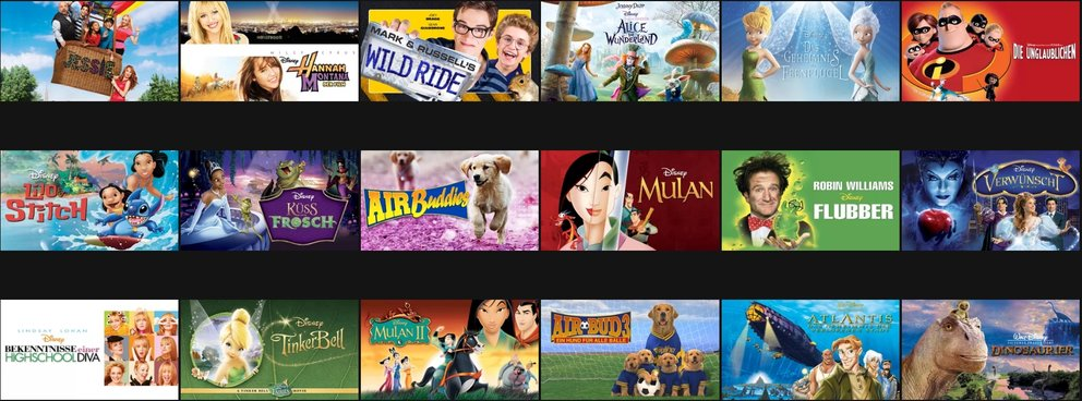 Disney Channel Mediathek Netflix Angebot