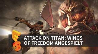 Attack on Titan: Wir haben das Spiel zum Anime gezockt (E3 2016)