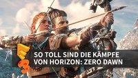 Horizon Zero Dawn: So cool spielt sich das Kampfsystem (E3 2016)