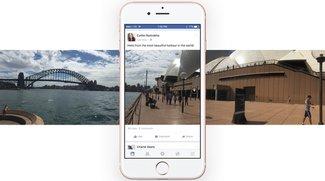 Facebook 360-Grad-Fotos erstellen und hochladen - So geht's