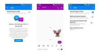 Facebook baut SMS-Funktion in Messenger ein