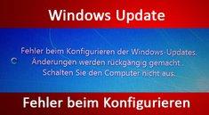 Lösung: Fehler beim Konfigurieren der Windows-Updates