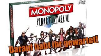 Final Fantasy VII: Erscheint im April – als Monopoly-Spiel