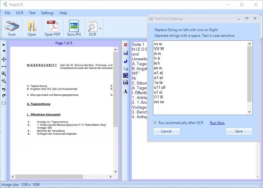 texterkennung freeware