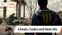 Fallout 4: Cheats und Codes für den God Mode, Munition, Items und mehr
