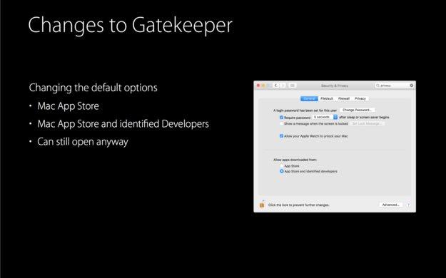 macOS Sierra: Verschärfte Sicherheit in Gatekeeper