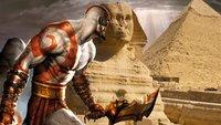 God of War: Kratos sollte es ursprünglich nach Ägypten verschlagen