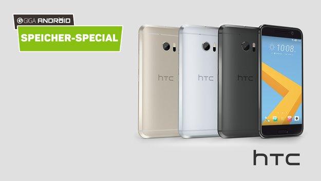 HTC 10, One M9 und Co. im Speichervergleich: So gefräßig ist Sense wirklich