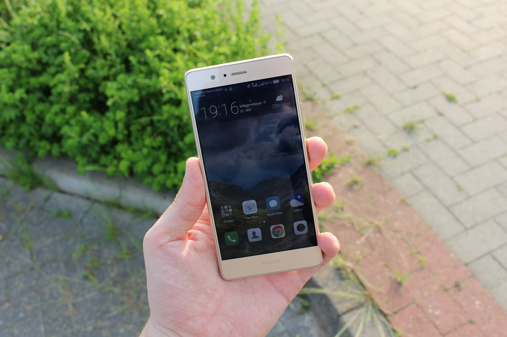 Huawei P9 Lite Test Display