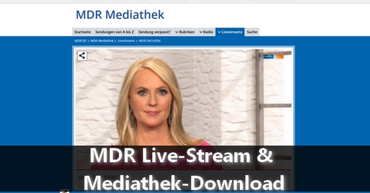 Mdr Mediathek Live