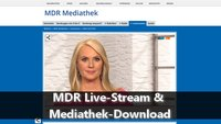 MDR Live-Stream & Mediathek-Download
