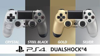 PlayStation 4: Neue Controller-Designs in Transparent und Steel Black erscheinen im Juli