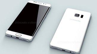 Flach war gestern: Samsung Galaxy Note 7 soll ausschließlich als edge-Modell erscheinen [Update: Mit 4.000-mAh-Akku]